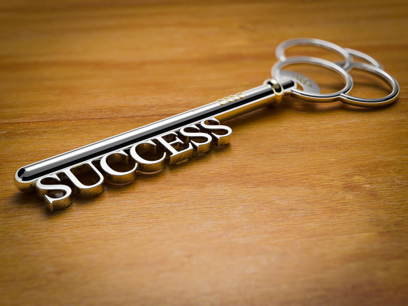 We have the key to success.